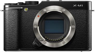 Fujifilm X-M1 zwart