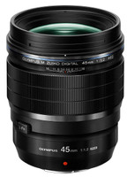 Olympus M.Zuiko Digital Pro 45 mm F1.2 ED 62 mm Objectif (adapté à Micro Four Thirds) noir