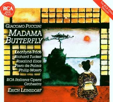 Leontyne Price - Giacomo Puccini: Madama Butterfly (Gesamtaufnahme)