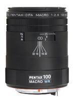 Pentax smc D FA 100 mm F2.8 WR Macro 49 mm Objetivo (Montura Pentax K) negro