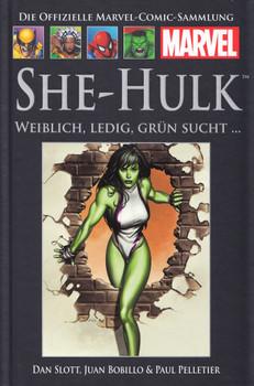 Die offizielle Marvel-Comic-Sammlung 37: She-Hulk - Weiblich, Ledig, Grün Sucht... - Dan Slott [Gebundene Ausgabe]