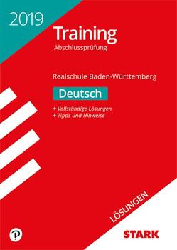 Lösungen zu Training Abschlussprüfung Realschule - Deutsch - BaWü [Taschenbuch]