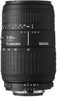 Sigma AF 70-300 mm F4.0-5.6 DL Macro 58 mm Objectif (adapté à Sony A-mount) noir