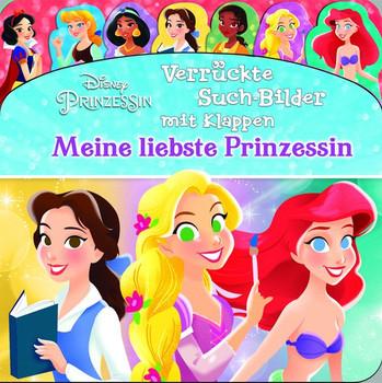 Disney Prinzessin, Meine liebste Prinzessin. Verrückte Such-Bilder mit Klappen [Gebundene Ausgabe]