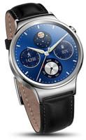 Huawei Watch Classic 38mm plata con correa de cuero negra [Wifi]