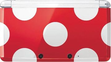Nintendo 3DS rosso bianco [edizione speciale Toad]