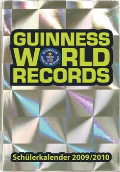 Guinness World Records - Schülerkalender 2009/2010 [Gebundene Ausgabe]