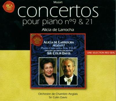 Alicia de Larrocha - Mozart: Klavierkonzerte 9