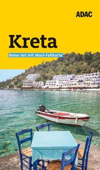 ADAC Reiseführer plus Kreta. Das ADAC Reise-Set mit Maxi-Faltkarte zum Herausnehmen - Cornelia Hübler  [Gebundene Ausgabe]