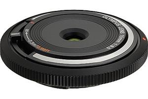 Olympus Body Cap Lens 15 mm F8.0 52 mm filter (geschikt voor Micro Four Thirds) zwart