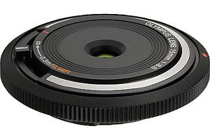 Olympus Body Cap Lens 15 mm F8.0 52 mm Objetivo (Montura Micro Four Thirds) negro