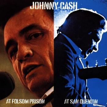 Johnny Cash - At Folsom Prison / At San Quentin