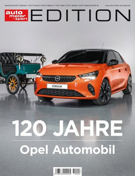 ams Edition - 120 Jahre Opel [Taschenbuch]