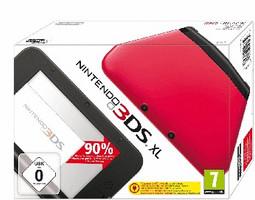 Nintendo 3DS XL rosso nero