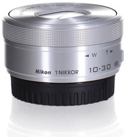 Nikon 1 NIKKOR 10-30 mm F3.5-5.6 ASPH. ED IF PD-ZOOM VR argent (adapté à Nikon 1)