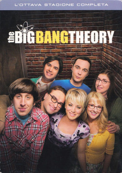 The Big Bang Theory: L`Ottava Stagione [3 DVDs, IT Import]