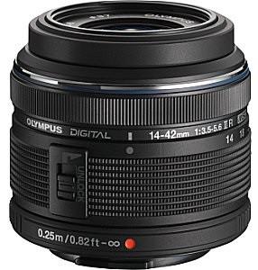 Olympus M.Zuiko Digital 14-42 mm F3.5-5.6 R II 37 mm filter (geschikt voor Micro Four Thirds) zwart