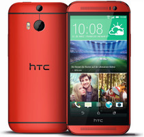 HTC One (M8) 16GB rojo