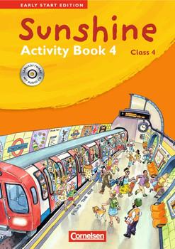 Sunshine - Early Start Edition 4 - Activity Book mit CD-Extra: Lernsoftware und Lieder-/Text-CD auf einem Datenträger. 4. Schuljahr - Hugh L'Estrange