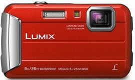 Panasonic Lumix DMC-FT30 rood