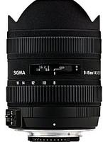 Sigma 8-16 mm F4.5-5.6 DC HSM (geschikt voor Nikon F) zwart
