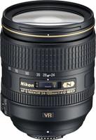 Nikon AF-S NIKKOR 24-120 mm F4.0 ED G VR 77 mm filter (geschikt voor Nikon F) zwart