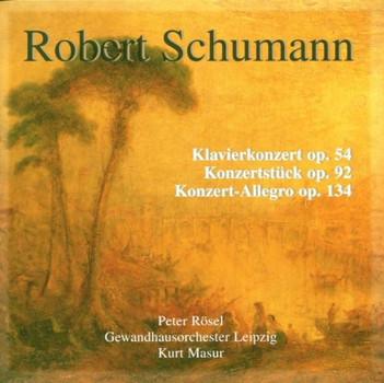 Peter|Masur,Kurt|Gol|Schumann,Robert Rösel - Werke für Klavier und Orchester