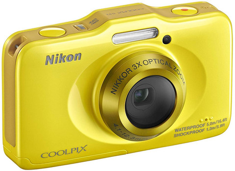 Nikon Coolpix S31 geel