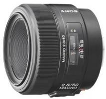 Sony 50 mm F2.8 Macro 55 mm Objetivo (Montura Sony A-mount) negro