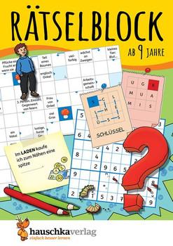 Rätselblock ab 9 Jahre. Kunterbunter Rätselspaß: Labyrinthe, Fehler finden, Kreuzworträtsel, Sudokus, Logicals undv.m. - Agnes Spiecker  [Taschenbuch]