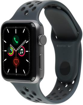 Apple Watch Nike+ Series 3 42mm cassa in alluminio grigio siderale con cinturino Nike Sport antracite/negro [Wifi]