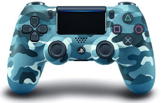 Sony PS4 DualShock 4 manette sans fil blue camouflage [2016]