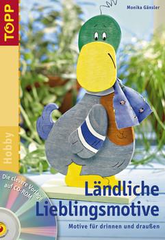 Ländliche Lieblingsmotive, m. CD-ROM - Monika Gänsler