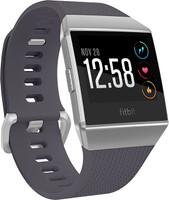 Fitbit Ionic 36mm plata gris con correa de silicona azul gris
