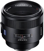 Sony Planar T* 50 mm F1.4 SSM ZA 77 mm Objectif (adapté à Sony A-mount) noir