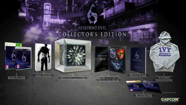 Resident Evil 6 Collectors Edition Inkl Artbook Emblem Und