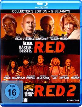R.E.D. - Älter. Härter. Besser. / R.E.D. 2 - Noch älter. Härter. Besser. [2 Discs, Collector's Edition]