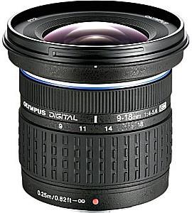 Olympus 9-18 mm F4.0-5.6 ED 72 mm filter (geschikt voor Four Thirds) zwart