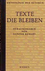 Texte, die bleiben. Anthologie der Autoren