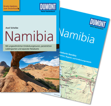DuMont Reise-Taschenbuch Reiseführer Namibia: mit Online Updates als Gratis-Download - Scheibe, Axel