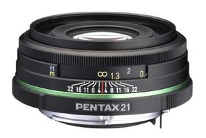 Pentax smc DA 21 mm F3.2 AL 49 mm filter (geschikt voor Pentax K) zwart
