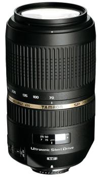 Tamron SP AF 70-300 mm F4.0-5.6 Di USD VC 62 mm Objectif  (adapté à Canon EF) noir