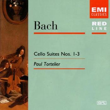 Paul Tortelier - Suiten für Cello 1, 2, 3