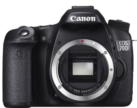 Canon EOS 70D zwart