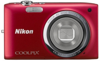 Nikon COOLPIX S2700 rouge