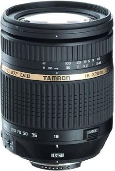 Tamron AF 18-270 mm F3.5-6.3 Di LD VC II Macro 72 mm filter (geschikt voor Canon EF) zwart