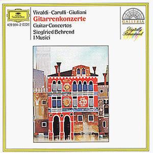 Siegfried Behrend - Galleria - Gitarrenkonzerte