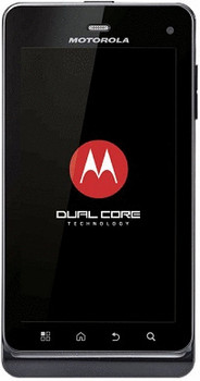 Motorola Milestone 3 negro