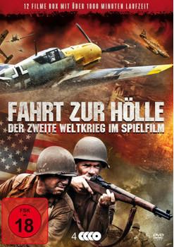 Fahrt zur Hölle - Der Zweite Weltkrieg im Spielfilm [4 DVDs]