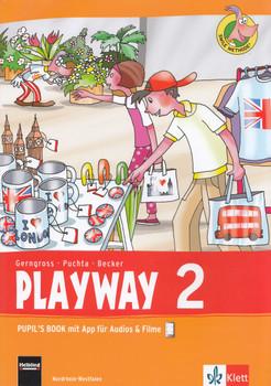 Playway 2: Pupil's Book mit App für Audios & Filme - Günter Gerngross, Herbert Puchta [Taschenbuch]